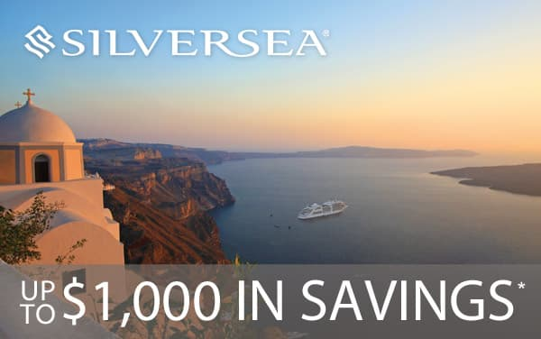 Silversea Cruises: Up to $1,000 in Savings!*