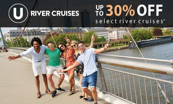 U River Cruises: Up to 30% OFF*