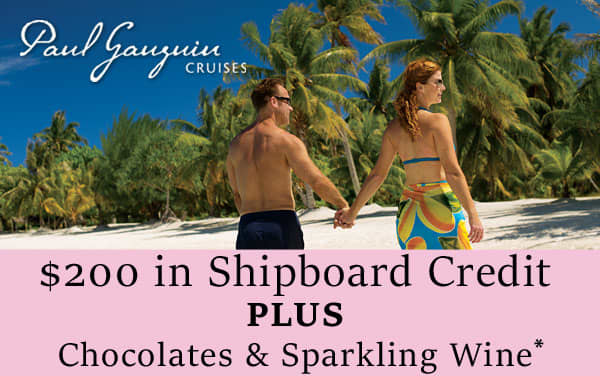 Paul Gauguin Sale: $200 Onboard Credit and Wine...