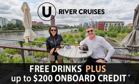 U River Cruises: Free Drinks AND $200 Onboard...*