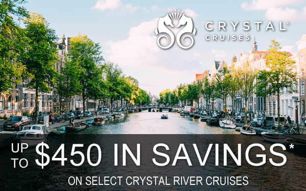 Crystal River Cruise Savings: Up to $450*