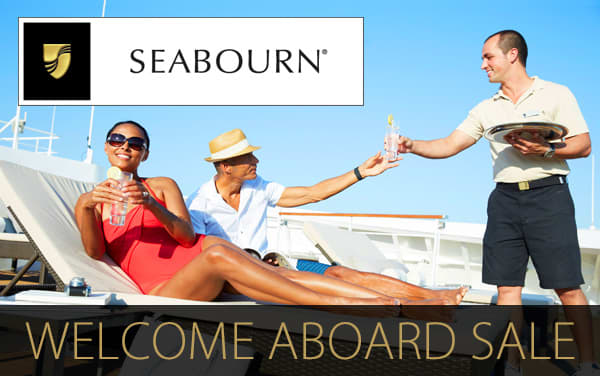 Seabourn Sale: FREE Upgrades, Shipboard Credit...