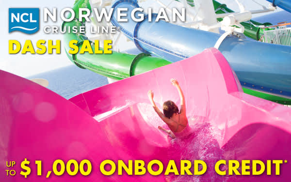 Norwegian Cruise Line: up to $1,000 OBC*