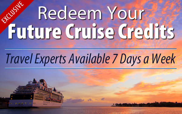 Redeem Future Cruise Credits with The Cruise Web