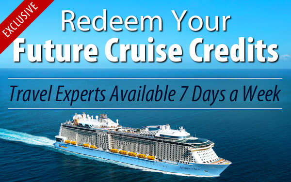 Redeem Future Cruise Credits for Royal Caribbean