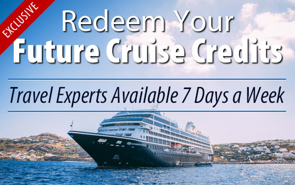 Redeem Future Cruise Credits for Azamara