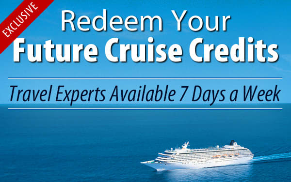 Redeem Future Cruise Credits for Crystal Cruises