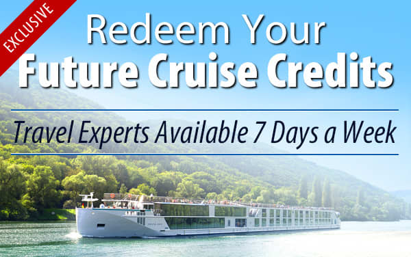 Redeem Future Cruise Credits for Crystal Rivers