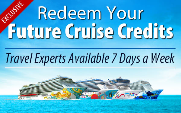 Redeem Future Cruise Credits for NCL