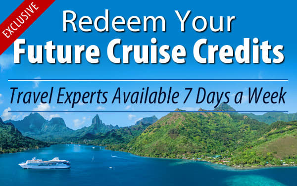 Redeem Future Cruise Credits for Paul Gauguin