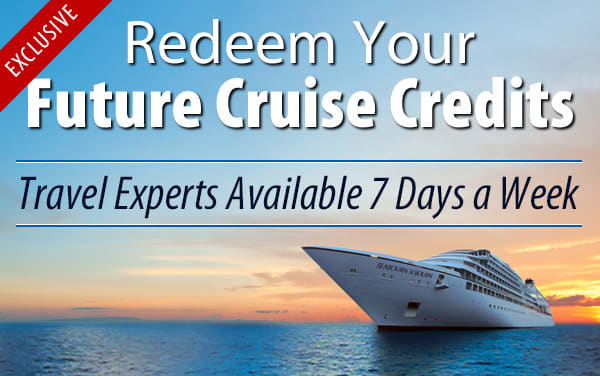 Redeem Future Cruise Credits for Seabourn