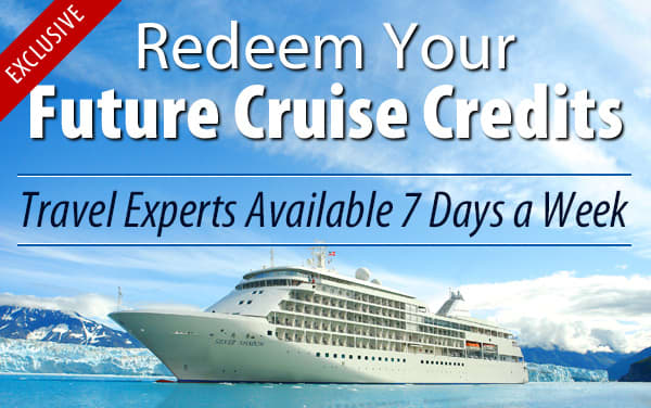 Redeem Future Cruise Credits for Silversea