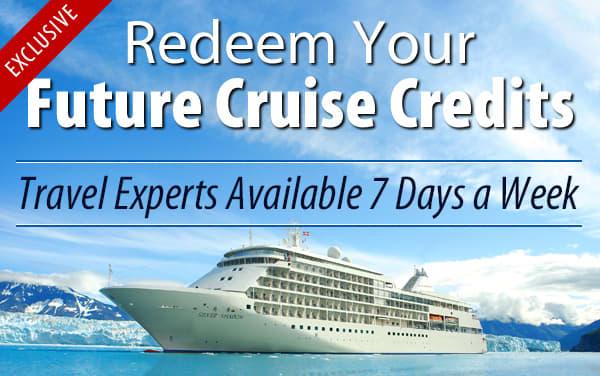 Redeem Future Cruise Credits for Silversea