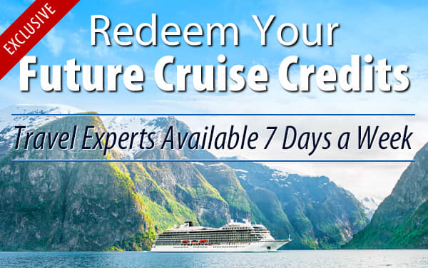 Redeem Future Cruise Credits for Viking Oceans