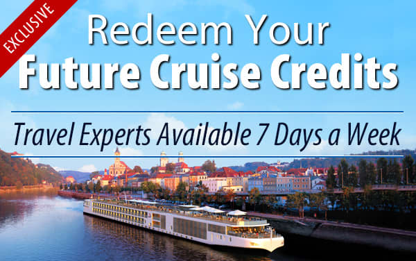 Redeem Future Cruise Credits for Viking Rivers