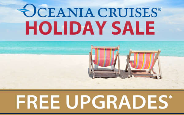 Oceania Cruises: Up to a 4-Category Upgrade*
