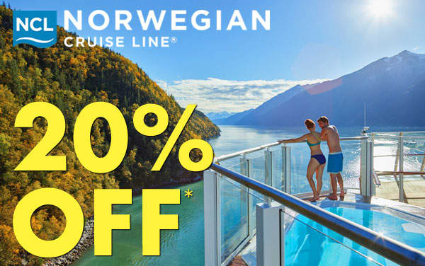 Norwegian Cruise Line: 20% OFF*