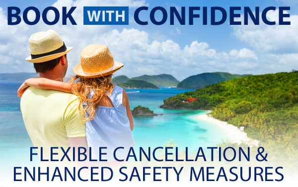Book with Confidence & Flexible Cancellation