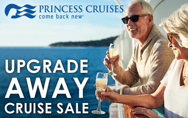 Princess Cruises: FREE Stateroom Upgrades*