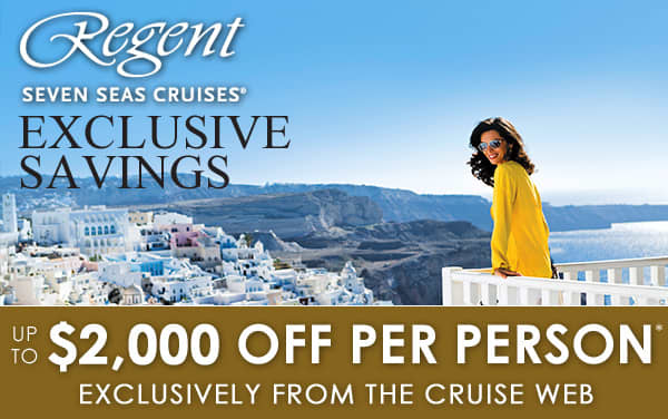 Up to $2,000 OFF exclusively from The Cruise Web*