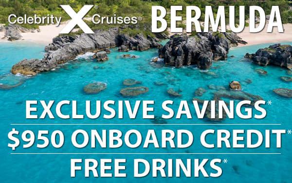 Bonus Savings, $950 Onboard Credit and FREE Drinks