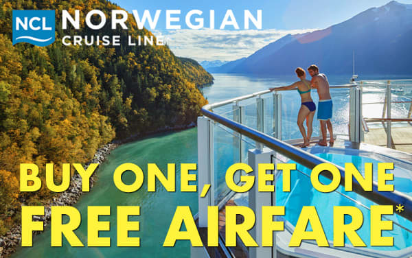 Norwegian: Buy One, Get One FREE Airfare*