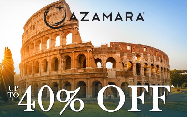 Azamara: up to 40% OFF*