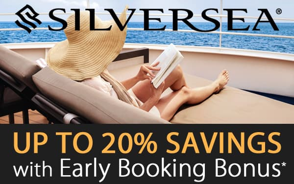 Silversea: up to 20% OFF*