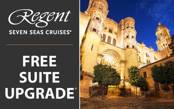 Regent Seven Seas: Free Suite Category Upgrade*