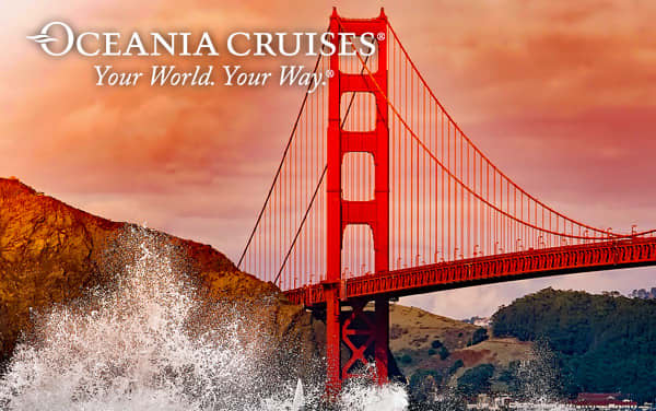 Oceania US Pacific Coast cruises from $2,349*