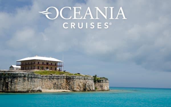 Oceania Bermuda cruises from $1,199*
