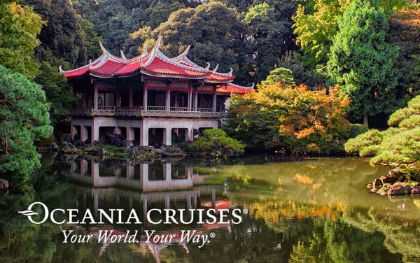 Oceania Southeast Asia cruises from $2,799*
