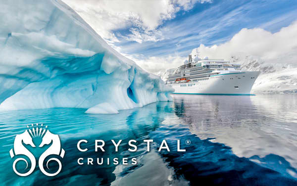 Crystal Antarctica cruises from $10,440*