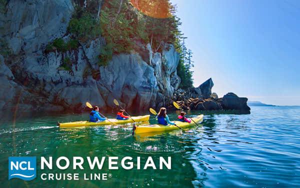 Norwegian Cruise Line Alaska Cruisetours from $2,191.30*