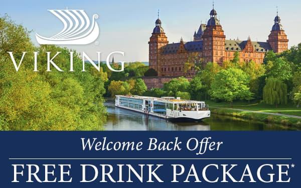 Viking Rivers: FREE Silver Spirits Drink Package*