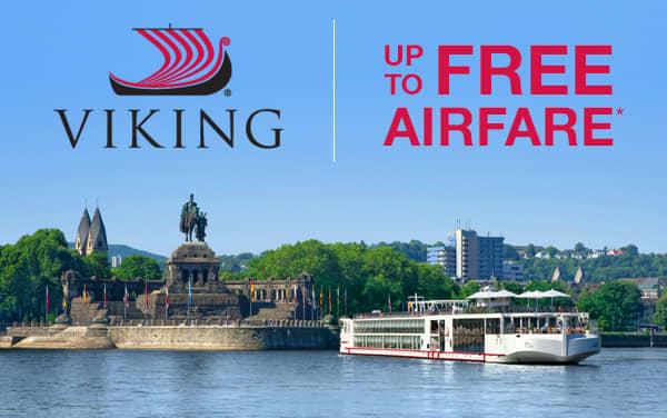 Viking Rivers: up to FREE Air*