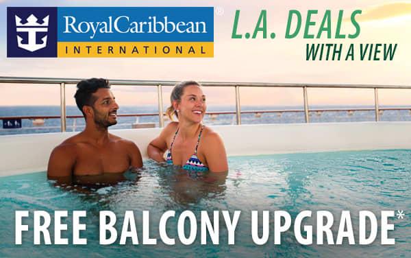 Royal Caribbean: FREE Balcony Upgrades*