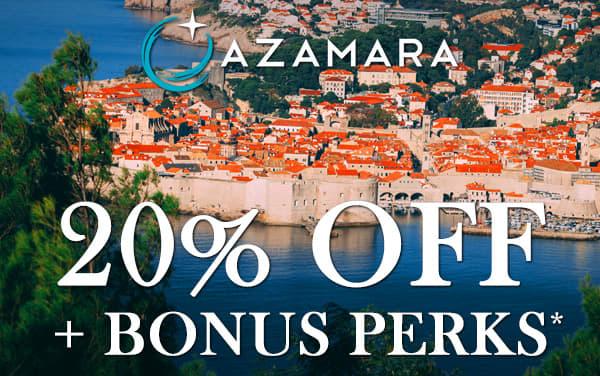 Azamara: 20% OFF plus Bonus Perks*