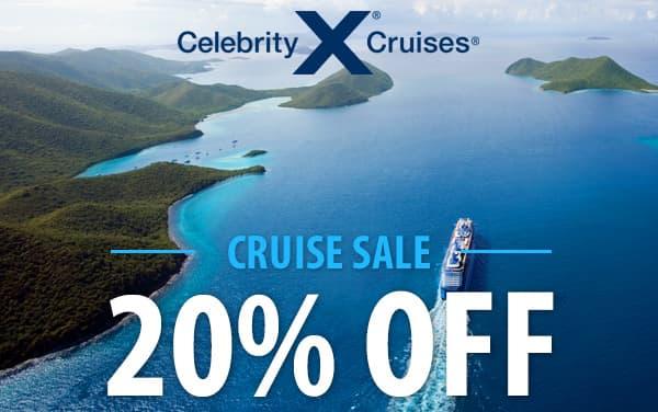 Celebrity Cruise Sale: 20% OFF*