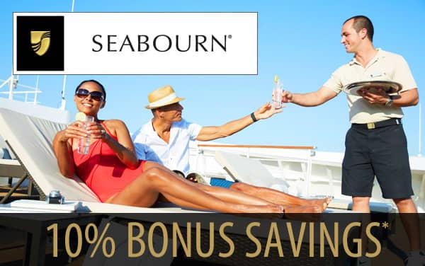 Seabourn: 10% Early Bonus Savings*