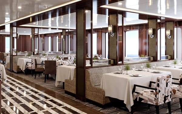 World Navigator Dining Vendor Experience