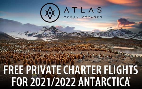 Atlas: FREE Charter Flights for Antarctica*