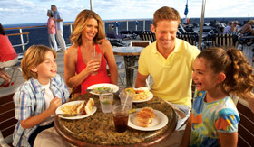Carnival dining Casual Dining