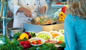 Carnival dining Mongolian Wok