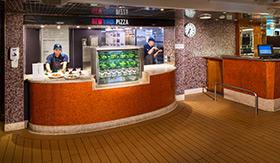 New York Pizza aboard Holland America
