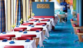 Holland America dining Lido Restaurant