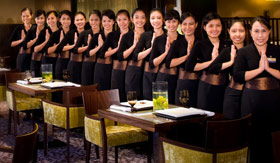 Holland America dining Tamarind