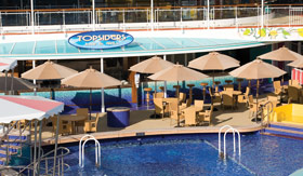 NCL dining Main Pool Bar Grill