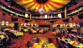 NCL dining Spiegel Tent