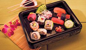 NCL dining Wasabi Sushi